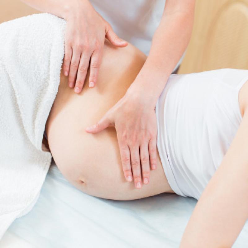 Massagem para gestantes